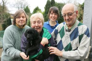 New Guide Dogs puppy Dudley named in honour of the borough